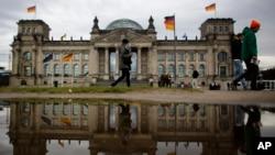 Parlamento alemao em Berlim