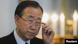 Generalni sekretar Ujedinjenih nacija Ban Ki-mun