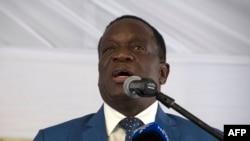 Emmerson Mnangagwa Presidente do Zimbábue