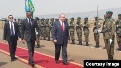 Minisitiri w'Intebe wa Isirayeli Benjamin Netanyahu yageze mu Rwanda nyuma yo gusura ibihugu bya Uganda na Kenya.