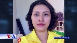 Nhà hoạt động Huỳnh Thục Vy chính thức bị khởi tố