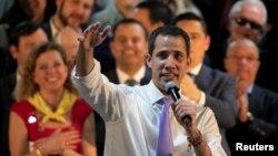Juan Guaido, líder da oposição venezuelana