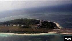 Pulau Pagasa, salah satu pulau di kepualuan Spratly yang memicu ketegangan di kawasan Laut Cina Selatan (foto:dok).