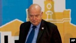 """El secretario general de la OEA, José Miguel Insulza, dijo que el organismo no va a """"intervenir en Venezuela"""" porque los países miembros no quieren."""
