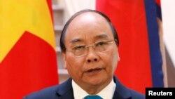 Chủ tịch Việt Nam Nguyễn Xuân Phúc.