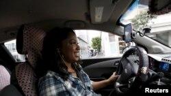 """Maya Jackson, vozačica """"Lifta"""" u Sacramentu."""