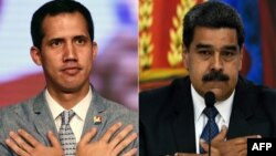 Juand Guaido i Nicolas Maduro