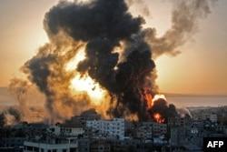 Konflik Israel-Palestina. (Foto: AFP)