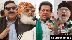 پاکستان میں اب تک کئی سیاست دانوں کے خلاف اشتعال انگیز تقاریر کے الزام میں مقدمات درج ہوچکے ہیں۔ (فائل فوٹو)