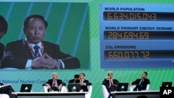 """2007年11月15日,中国核工业集团总经理康日新在第20届世界能源大会上发言。后来,他被控向""""外国""""出卖情报,被判处无期徒刑。"""