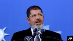 무함마드 무르시 이집트 대통령(자료 사진)