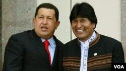 """Tal como lo hizo el gobierno de Hugo Chávez en Venezuela, Morales también propone """"acabar"""" con algunos programas de televisión."""