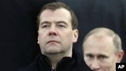 普京與梅德韋傑夫職位有可能再次互換。