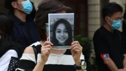 2019-10-18 美國之音視頻新聞: 香港多地快閃集會 要求調查15歲少女抗爭者死因