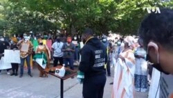 African Diaspora Protest Alongside Americans To Fight Racism