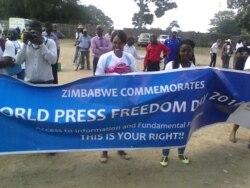 Report on Press Freedom Filed By Patricia Mudadigwa