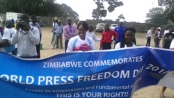 Report on Press Freedom Filed By Patricia Mudadigwa