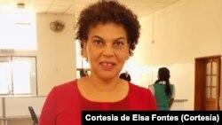Elsa Fontes, socióloga e escritora cabo-verdiana