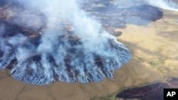 阿拉斯加冰川正融化。