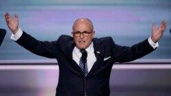 ႏုိင္ငံျခားေရး၀န္ႀကီးသစ္ တစ္ေျပးခံရသူေတြစာရင္းထဲ Giuliani ပါ၀င္