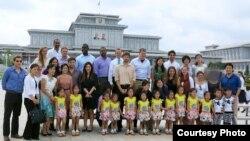 폴 허로우 매사추세츠 주 의회 하원의원과 하버드 대학 방문단이 지난 13일부터 20일까지 북한을 방문했다. 사진제공 = 백지은(하버드대 케네디 스쿨)