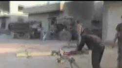 2012-08-14 美國之音視頻新聞: 美國可能在敘利亞上空設立禁飛區