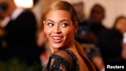 FILE - Singer Beyonce