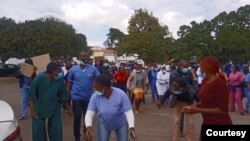 Nurses Strike Harare2
