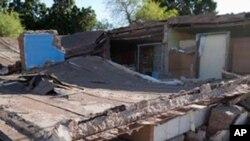 지진으로 무너져내린 가옥(자료사진)