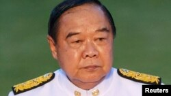 FILE - Thai Deputy Prime Minister and Defense Minister Prawit Wongsuwan.