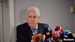 Martin Griffiths, l'émissaire de l'Onu dans la crise yémenite.