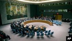 Suasana sidang Dewan Keamanan PBB di Kantor Pusat PBB, 27 September 2013 (Foto: dok).