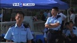 VOA60 Duniya: Daruruwan 'Yan Rajin Dimokaradiyya a Hong Kong Har Yanzu na Kan Tituna, Oktobar 6, 2014