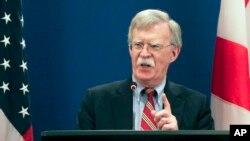 白宫国家安全事务顾问约翰•博尔顿 (资料照片)
