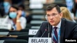 Голова делегації Білорусі до ООН Юрій Амбразевич