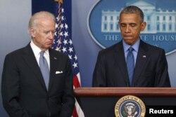 美国总统奥巴马星期四上午在白宫就南卡罗莱纳州查尔斯顿伊曼纽尔AME教堂星期三晚上发生的枪杀案发表讲话 (2015年6月18日)