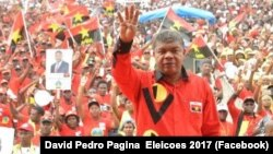João Lourenço prometeu combater a corrupção