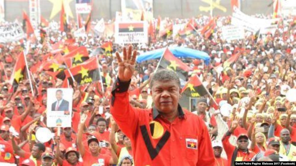 Candidato pelo MPLA nas eleições gerais de 2017 em Angola, João Lourenço