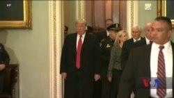 Президент Трамп вирушив у Конгрес для консультацій стосовно умов, на яких можливо буде відновити роботу уряду. Відео
