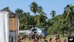 ہیٹی: متاثرہ افراد کی ضروریات کے تعین کے لیے امریکی فوج نے مرکز قائم کردیا