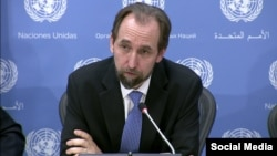 Komisaris Tinggi HAM PBB, Zeid Ra'ad al-Hussein (foto: dok).
