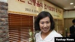 자유통일문화원의 이애란 이사장. (자료사진)