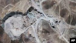 2009년에 촬영된 이란 핵 시설 (자료사진)