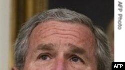 پرزيدنت بوش خواستار آزادی فوری و بی قيد و شرط چهار آمريکائی ايرانی تبار شد