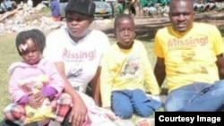 Sheffra Dzamara has appealed to Itai Dzamara's captors to release him. (Photo: Occupy Africa Unity Square)