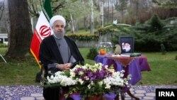 """حسن روحانی: """"همانی که دیروز به عنوان منطقه ممنوعه بود امروز به رسمیت شناخته می شود"""""""