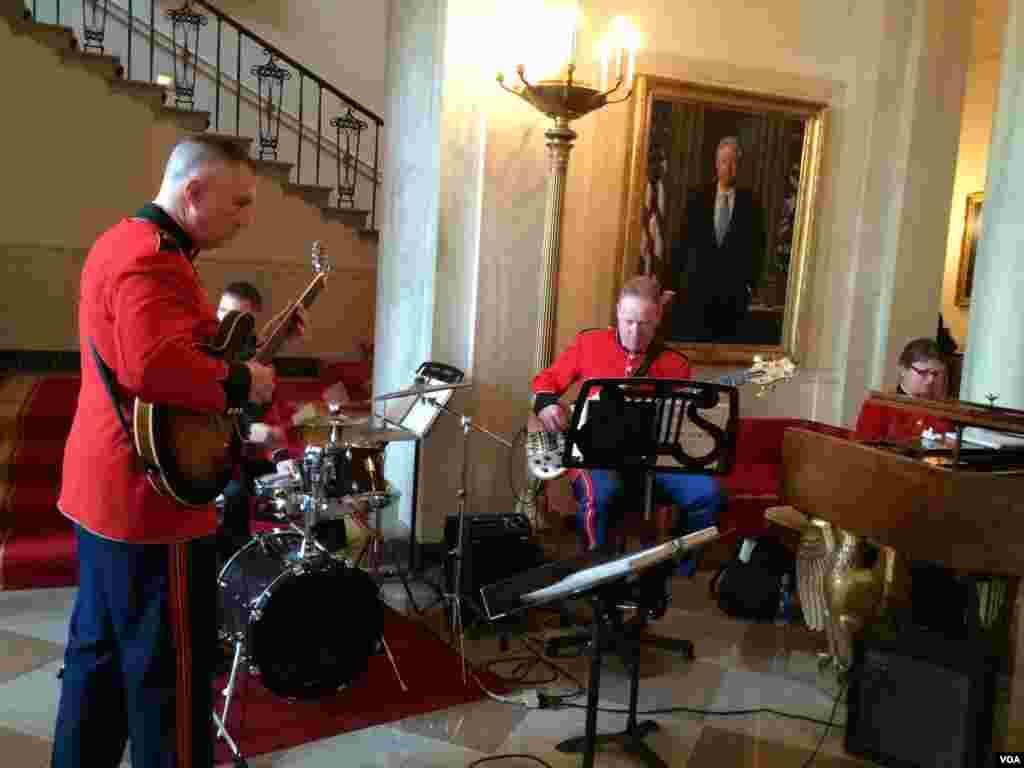 اجرای برنامه موسیقی در کاخ سفید به مناسبت نوروز