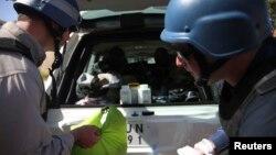 Inspektori Ujedinjenih nacija za hemijsko oružje