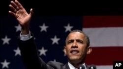 奧巴馬在俄亥俄州競選中稱就業正常增長