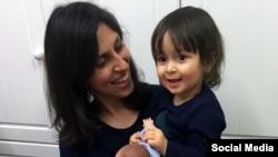 ملاقات نازنین زاغری رتکلیف با دخترش در زندان